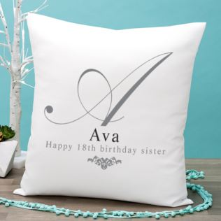 Personalised Initial Cushion Product Image