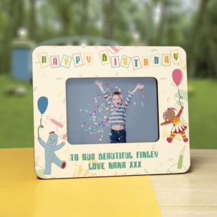 Personalised In The Night Garden Birthday 6 x 4 Photo Frame Product Image