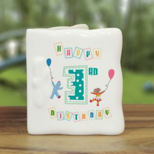 Personalised In The Night Garden Birthday Message Card Product Image