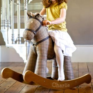Personalised Jasper Rocking Horse 18 Months + Product Image