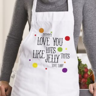 Personalised Jelly Tots Apron Product Image