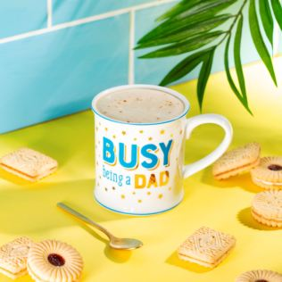 Busy Being A Dad Mug Product Image