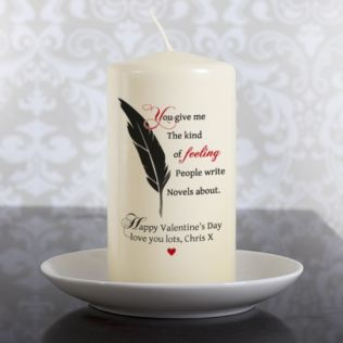 Personalised Kind Of Feeling Candle Product Image
