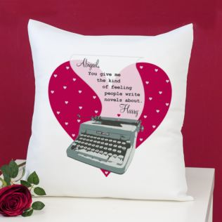 Personalised Kind Of Feeling Cushion Product Image