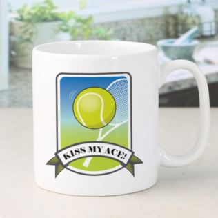 Personalised Kiss My Ace Tennis Mug Product Image