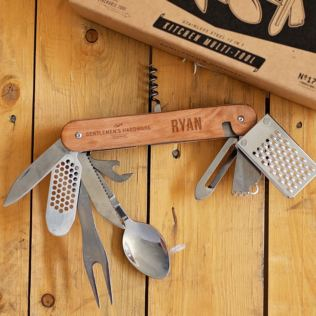 Gentlemen's Hardware Engraved Kitchen Multi-Tool Product Image