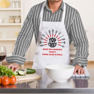 Top Chef Personalised Apron Product Image
