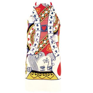 King Of Hearts Playing Card Apron Product Image