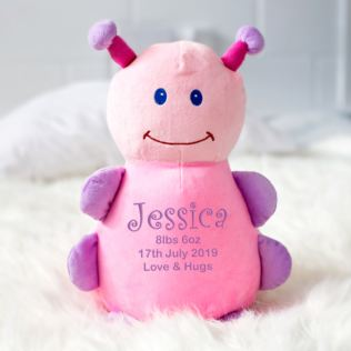 Personalised Embroidered Cubbies Ladybug Soft Toy Product Image