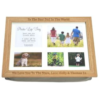 Personalised Photo Lap Tray Product Image