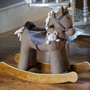 Personalised Chester & Fred Rocking Horse Product Image