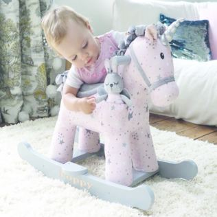 Celeste & Fae Personalised Rocking Unicorn (12months +) Product Image