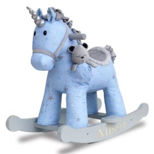 Personalised Moonbeam & Rae Rocking Unicorn Product Image