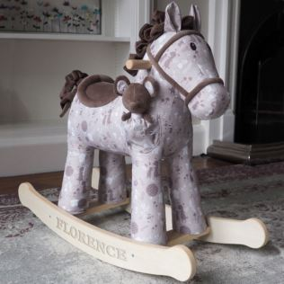 Personalised Biscuit And Skip Rocking Horse 12+ Months Product Image