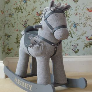 Personalised Stirling And Mac Rocking Horse 12+ Months Product Image