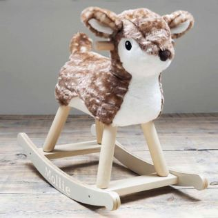 Personalised Willow Rocking Deer - 9+ Months Product Image