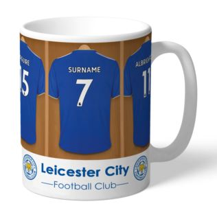 Personalised Leicester City FC Dressing Room Mug Product Image