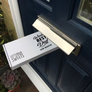 Worlds Best Dad - Personalised Letterbox Sweets Product Image