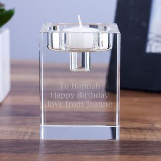 Personalised Dartington Combo Block Candle Holder Product Image