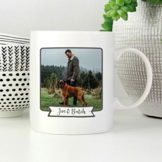 Personalised Lifes So Much Better With A Dog Photo Mug Product Image