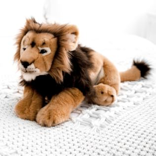 Living Nature Male Lion Soft Toy Product Image