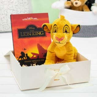 Personalised Lion King Premium Book & Plush Toy Product Image