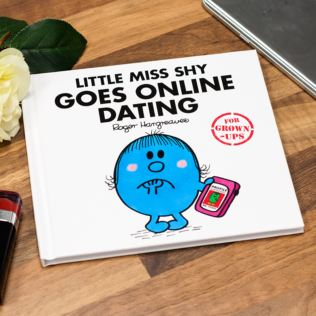 Mr Men - Little Miss Shy Goes Online Dating Book Product Image