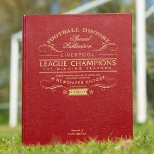 Liverpool League Champions – The Winning Seasons Newspaper Book Product Image