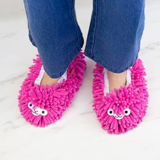 Llama Cleaning Slippers Product Image