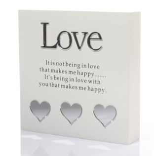 Love Sentiment Block-Art Product Image