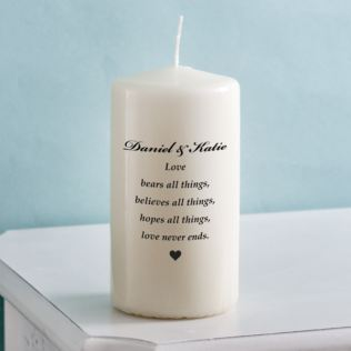 Unity Candle - Love Bears All Product Image