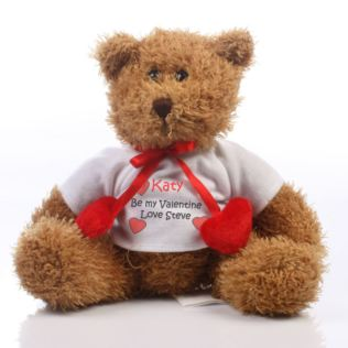 Personalised Valentines Teddy Product Image