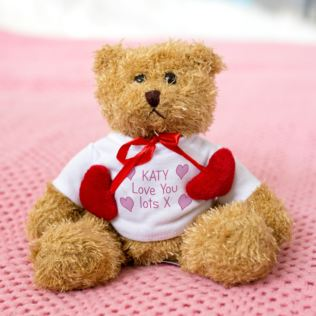 Personalised Love Heart Bear Product Image