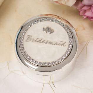 Bridesmaid Trinket Box Product Image