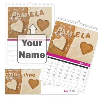 Personalised Best Mum Calendar Product Image