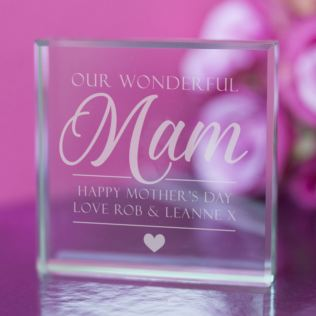 Our Wonderful Mam Personalised Keepsake Product Image