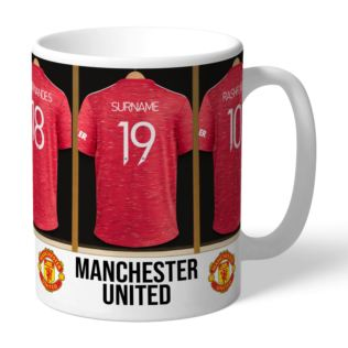 Personalised Manchester United Dressing Room Mug Product Image