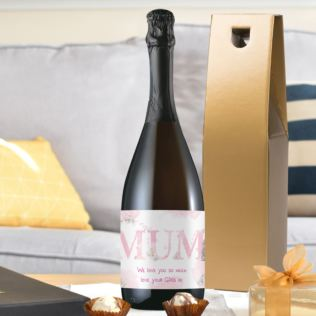 Personalised Me To You MUM Prosecco Product Image