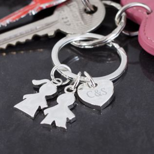 Personalised Children Keyring Product Image