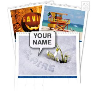 Personalised Seasons Calendar Product Image