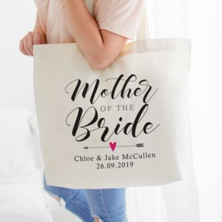 Personalised Mother Of The Bride Tote Bag Product Image