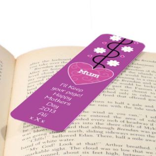 Mother's Day Personalised Bookmark Product Image