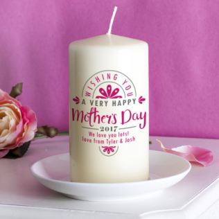Personalised Mother's Day Candle Product Image