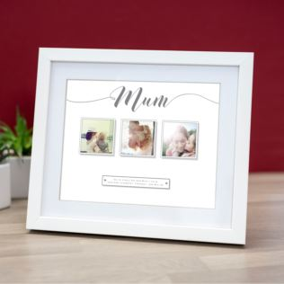 Personalised Multi Photo Upload Mother's Day Framed Print Product Image