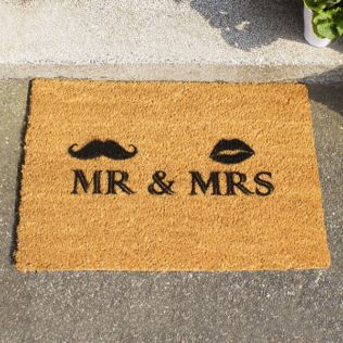 Mr And Mrs Doormat Product Image
