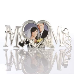 Mr and Mrs Photo Frame Product Image