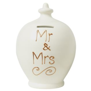 Mr & Mrs Personalised Terramundi Money Pot Product Image
