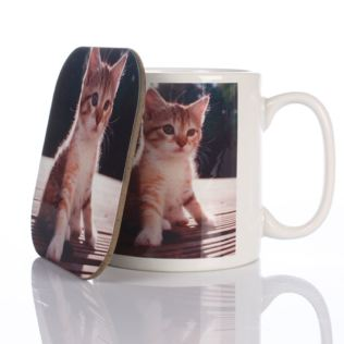 Personalised Mug and Coaster Set Product Image