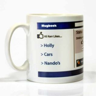 MugBook - Your Own Personalised Social Mug Product Image