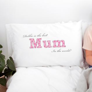Personalised Mum Pillowcase Product Image
